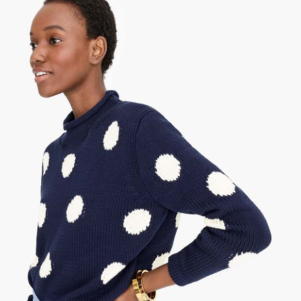 Jcrew roll dot